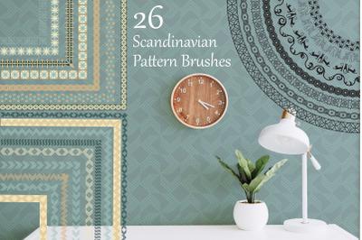 Scandinavian Pattern Brushes