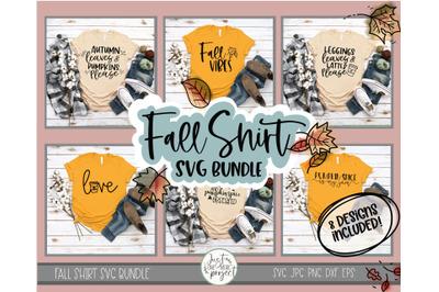 Fall SVG Bundle, Fall Shirt svg, Pumpkin Spice svg, Fall Shirt SVG Fil