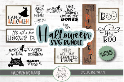 Halloween SVG bundle, Halloween Bundle, Halloween sign svg, Halloween