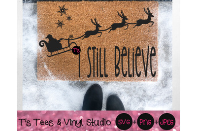 I Still Believe Svg, Christmas Svg, Believe In The Magic Of Christmas,