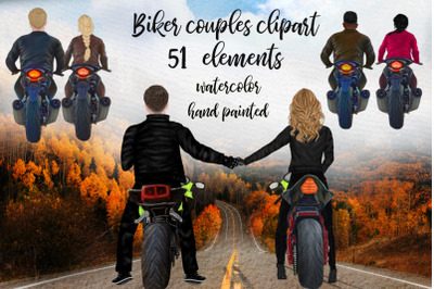 Biker Clipart Couples Biker clipart Girls on bike Motorcycle