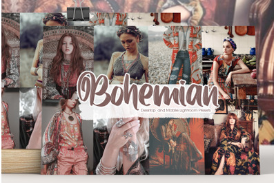 Bohemian Lightroom Presets
