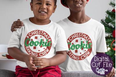 Christmas Svg, Christmas Baking Crew, Christmas Cookies