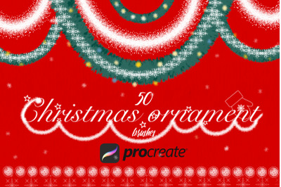 Christmas Brushes For Procreate