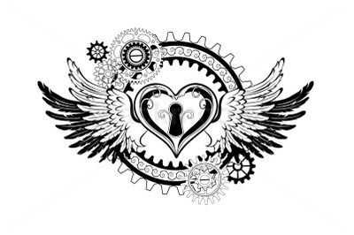 Winged Mechanical Heart
