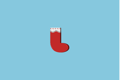 Candy Sock Christmas Icon
