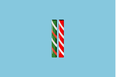 Stick Candy Christmas Icon