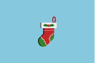 Cypress Decoration Sock Christmas Icon