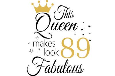 Birthday Svg, 89 Birthday svg, 89 Birthday clipart, happy birthday cri