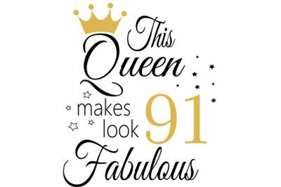 Birthday Svg, 91 Birthday svg, 91 Birthday clipart, happy birthday cri