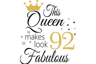 Birthday Svg, 92 Birthday svg, 92 Birthday clipart, happy birthday cri