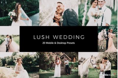 20  Lush Wedding LR Presets