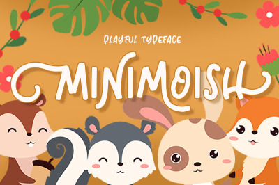 Minimoish - Playful Typeface