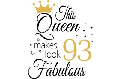 Birthday Svg, 93 Birthday svg, 93 Birthday clipart, happy birthday cri