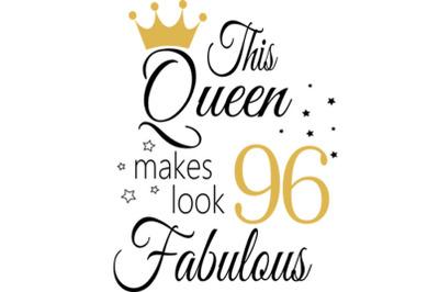 Birthday Svg, 96 Birthday svg, 96 Birthday clipart, happy birthday cri