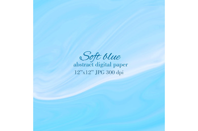 Soft blue Abstract texture Light blue wave background