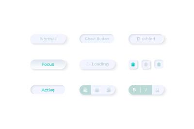 Option fields UI elements kit