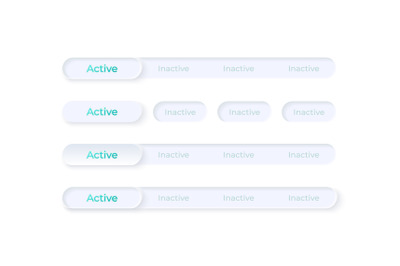 Activate and disable buttons UI elements kit