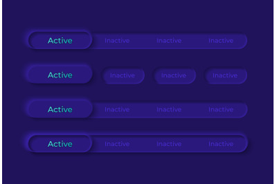Switches UI elements kit