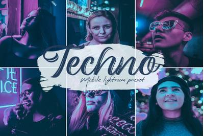 Techno Lightroom Presets
