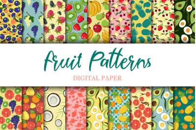 Fruit Digital Paper