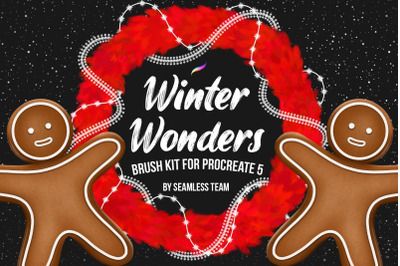 Winter Wonders Brush Kit for Procreate 5+