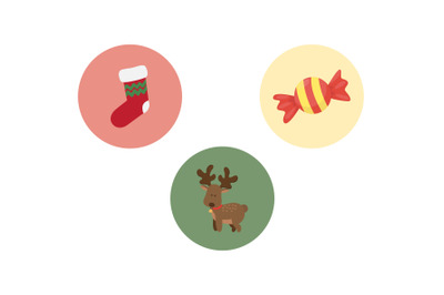 Christmas Deer Sweater Vector Bundle