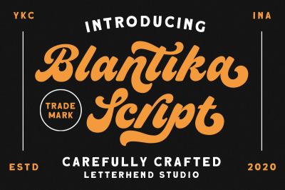 Blantika Script