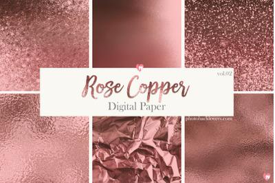 Rose Copper Digital Paper vol 2