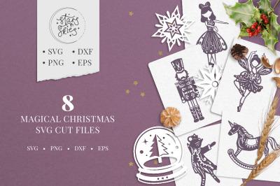 Magical Christmas Cut-Files