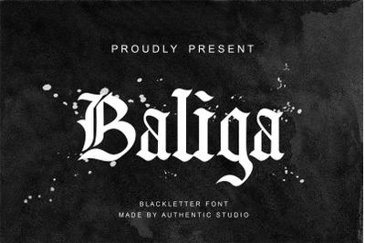 Baliga Blackletter