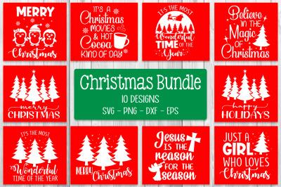 Christmas Quotes Bundle Svg