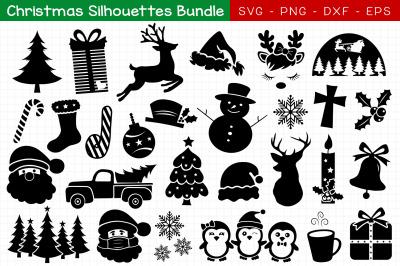 Christmas Silhouettes Bundle