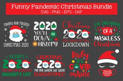 Pandemic Christmas Bundle Svg