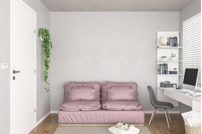 Interior scene_artwork background_interior mockup