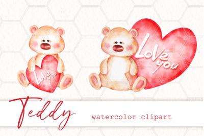 Teddy. Clipart