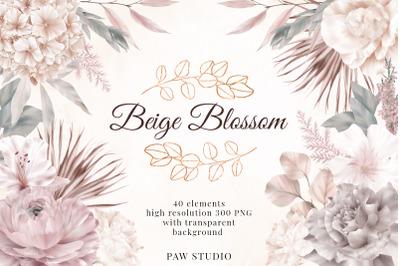 Wedding Flowers Leaves Rose Lily Hydrangea Eucalyptus Clipart