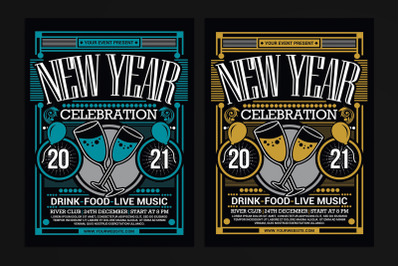 New Year Party Celebration 2021