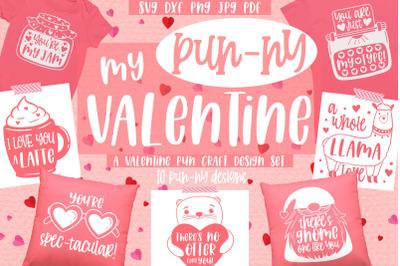 Valentine Pun designs bundle   Valentine's Day svg