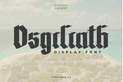 The Osgiliath
