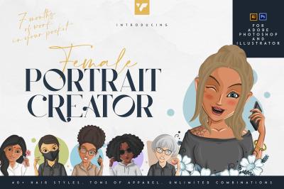 Female Portrait Creator - Ai and PS
