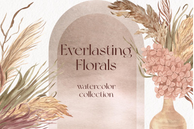 Everlasting Florals Watercolor Collection