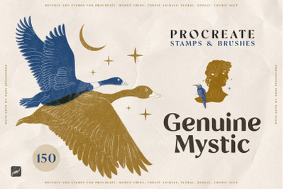 Genuine Mystyc Procreate Stamps