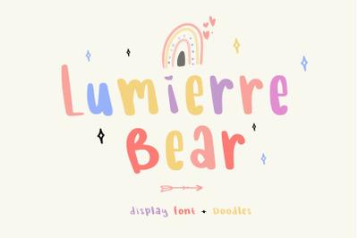 Lumierre Bear | Extra Doodles