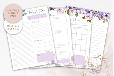 Printable Planner Bundle #1