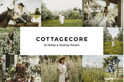 20  Cottagecore LR Presets