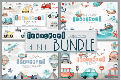Transport BUNDLE 4 in 1
