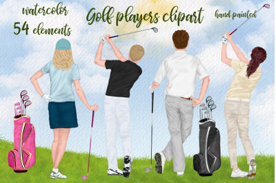 Golf clipatrt Golfer clipart Golf players Clipart, Golf Bag