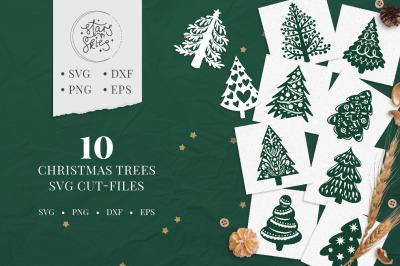 Christmas Trees SVG Cut-Files