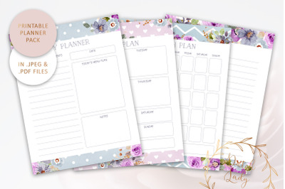 Printable Planner Bundle #3